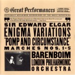 Elgar.Enigma Variations.Pomp.Barenboim.London PO.GP91