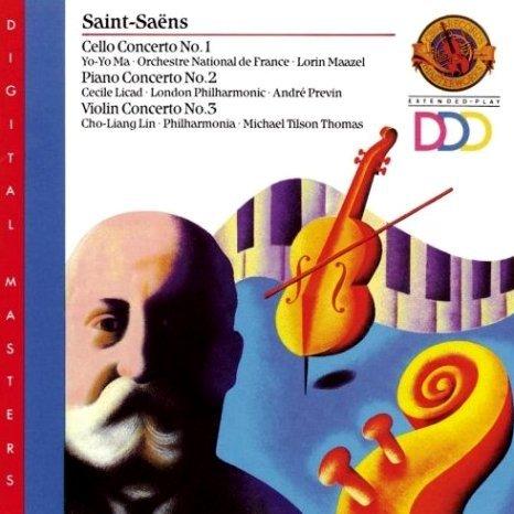 Saint sains concertos cbs